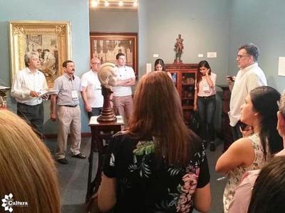 Cierre del taller para gestores culturales de gobernaciones del país