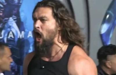 La aplaudida danza guerrera Haka con que Jason Momoa encendió la premiere de Aquaman
