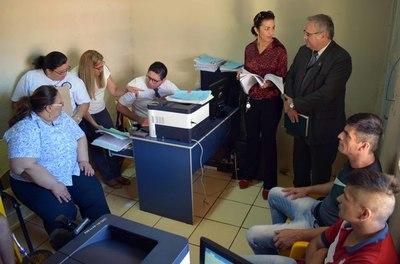 Realizan audiencias preliminares dentro del Penal Regional