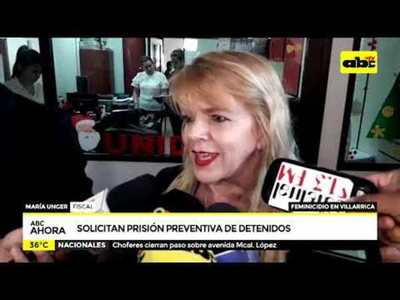 Solicitan prisión preventiva para detenidos