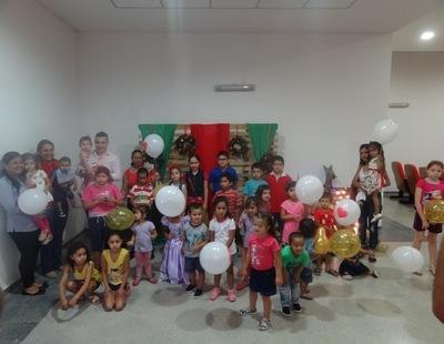 Fiesta de Navidad para niñas y niños operados del corazón