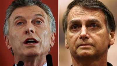 Bolsonaro recibirá a Mauricio Macri en Brasilia el próximo año