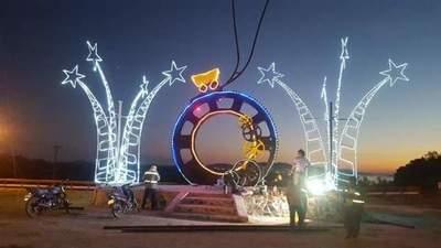 En Vallemí ya se vive el ambiente navideño