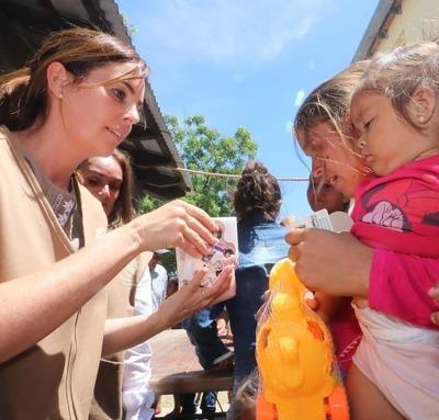 """Campaña """"Paraguay Solidario"""" inició entrega de víveres en norte del Chaco"""