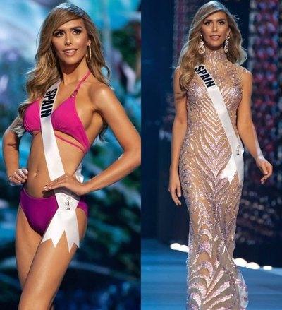 """¿IBA DE VIAJE? Miss España con """"un bulto"""" en su biquini"""