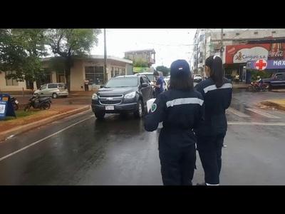 NI LLUVIA ATAJA A BOMBEROS DE CAMBYRETA