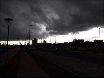 Cinco departamentos bajo alerta meteorológica