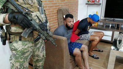 Cae 'Capilé', presunto jefe narco brasileño en Asunción