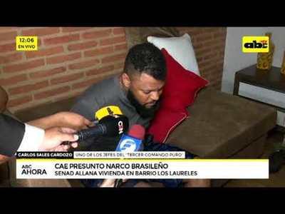 Cae presunto narco brasileño