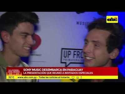 Sony Music: un sonado regreso al Paraguay