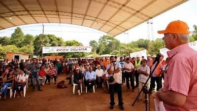 MOPC anuncia obra de asfaltado para crear corredor de integración en Caaguazú