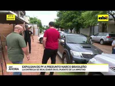 Expulsan de Paraguay a presunto narco brasileño