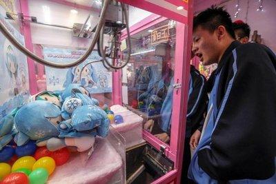 La fiebre de las máquinas de peluches sacude Taiwán