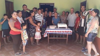 Abuela cumplió 103 años en San Pedro