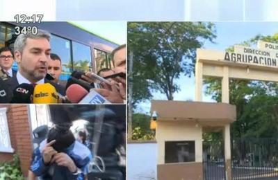 Presidente Mario Abdo afirmó que hubo complicidad en la fuga de la Agrupación