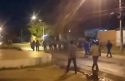 Batalla campal en Itá Enramada