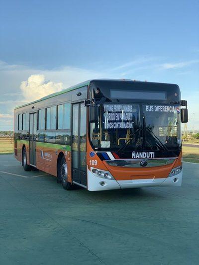 Se espera que en poco tiempo más sumen los buses híbridos