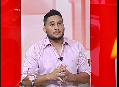 "Cesar Trinidad reapareció en ""TeleShow"""