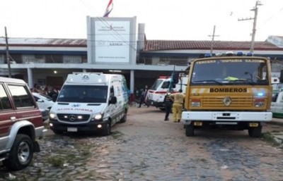 Incendio en uno de los pabellones del penal de Tacumbu causó recluso del PCC