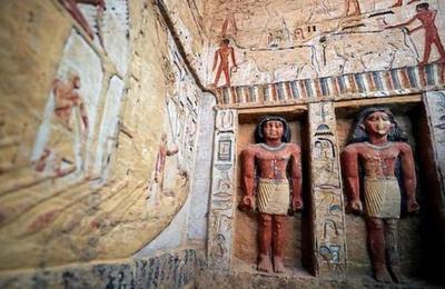Egipto: Descubren tumba intacta de hace 4.400 años