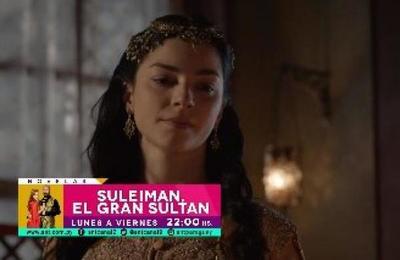 ¡Imperdible episodio el que llega hoy con Suleiman, El Gran Sultan!