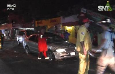 Violento accidente se registró en la zona de Capiatá