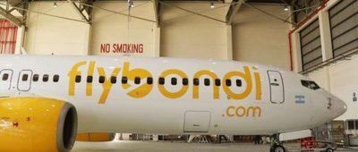 Exitoso primer vuelo de Flybondi en Paraguay