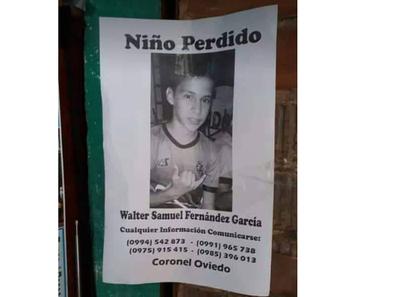Buscan a niño desaparecido desde el miércoles 12 de diciembre – Prensa 5