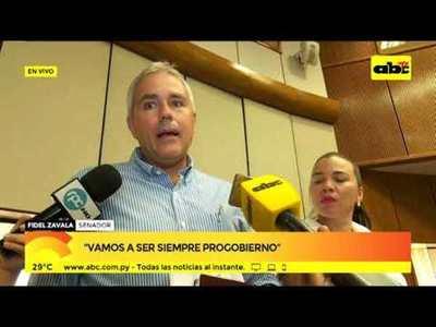 Fidel Zavala: Vamos a ser siempre progobierno