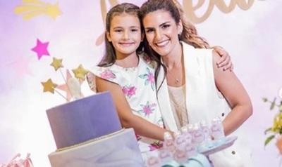 Amparo Velázquez Así Celebró El Cumpleaños De Su Hija