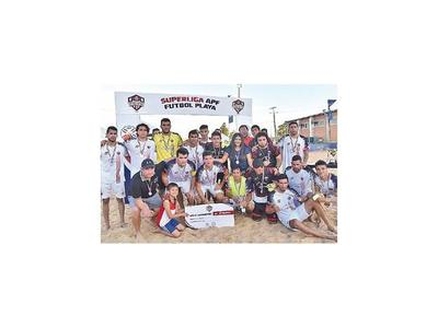 Superliga de playa  desde hoy en Areguá