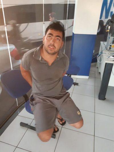 Detiene a un paraguayo en Foz de Yguazú con 150 kilos de marihuana