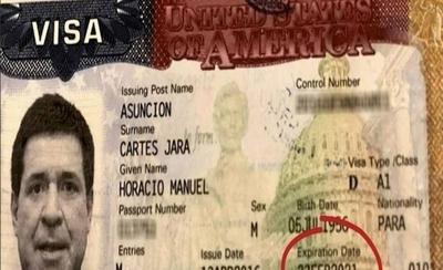HOY / Excanciller aclara: visa de Cartes para EE.UU. excede mandato presidencial
