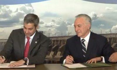 Histórica firma para construcción de puente en Franco