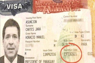 Loizaga: Cartes tiene una visa válida
