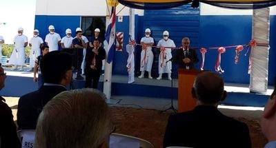 Cooperativa Yguazú inaugura un  frigorífico