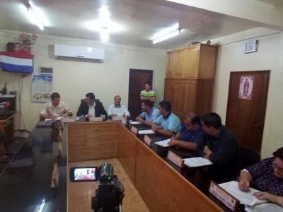 Concejales reivindican a Cardozo como Presidente de la Junta