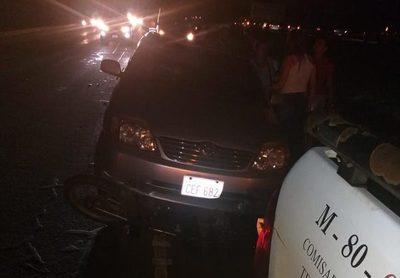 Motociclista fallece en accidente en Minga Guazú
