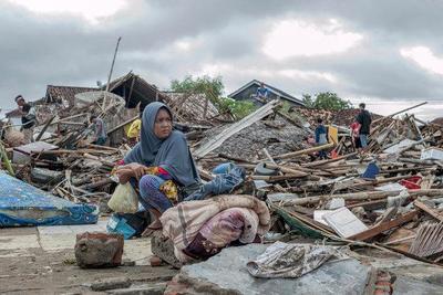 Tsunami deja al menos 222 muertos en Indonesia