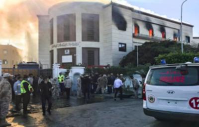 Ataque suicida al Ministerio de Asuntos Exteriores de Libia deja tres muertos