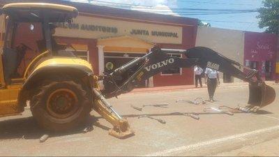 Destruyen roncadores de motocicletas en Horqueta
