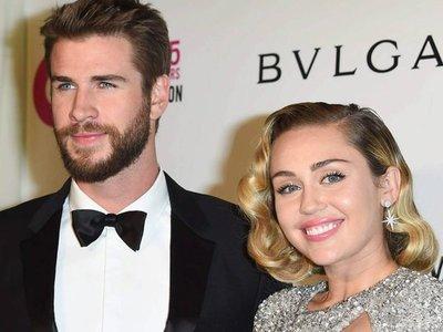 Miley Cyrus y Liam Hemsworth ya están casados