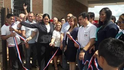 Inauguran nueva escuela en San Patricio