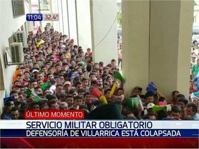 Desmayos y desorden ante multitud de objetores en Villarrica