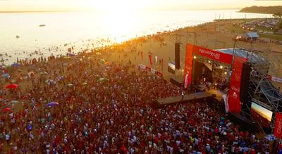 Miles de personas esperarán Año Nuevo en playas de Encarnación