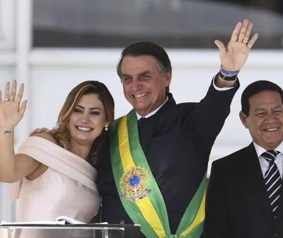 Principales frases de Bolsonaro durante su discurso de toma de mando