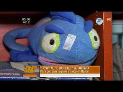 Hospital de juguetes a Ñeembucu