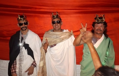 """Reyes Magos """"indignados"""" en movilización ciudadana"""
