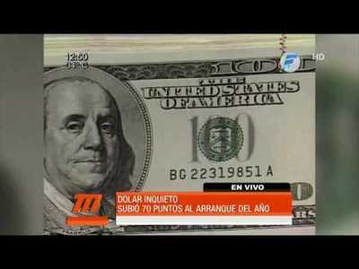 El dolar preocupa: solo en el inicio del año subió 70 puntos