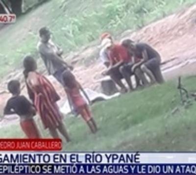 Joven sufrió ataque epiléptico y se ahogó en río Ypané